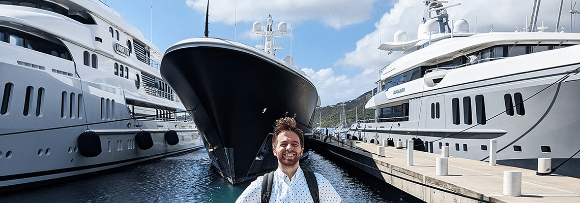 Zach Hankinson, Support Engineer brings WiFi to the High Seas
