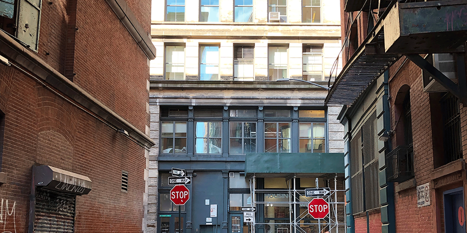 mac-tech offices looking from Jersey Street, SoHo